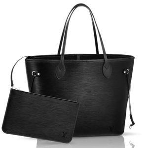 Louis Vuitton Bags - Authentic Louis Vuitton Epi Leather Neverfull Bag